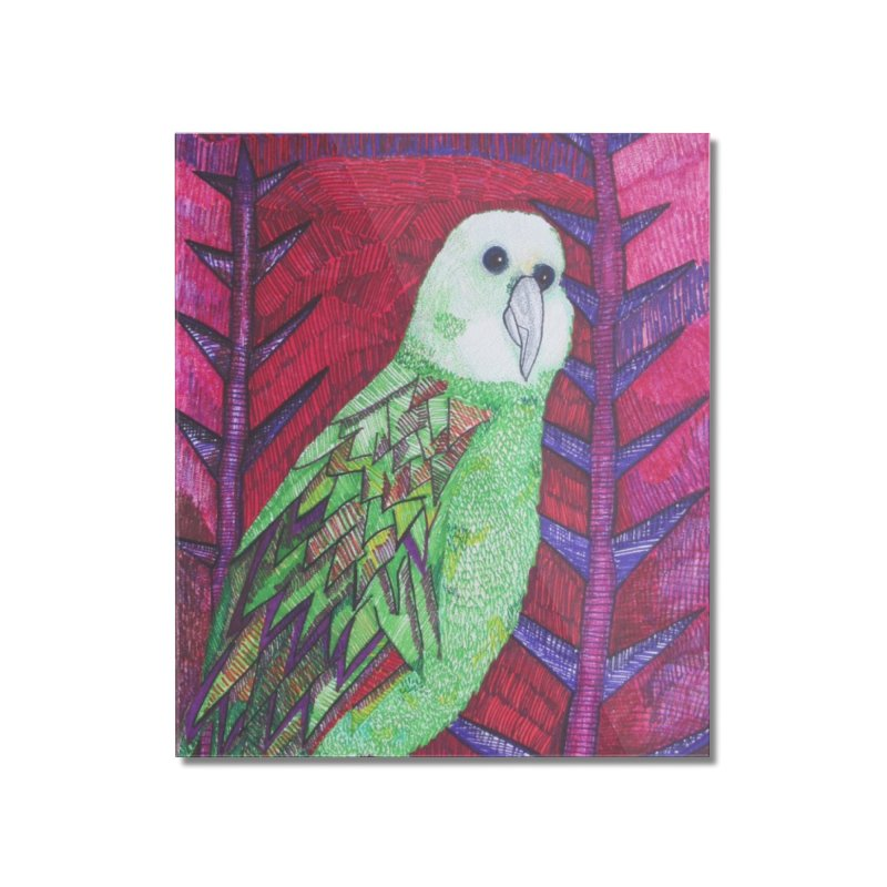 Michael the Parrot Home Mounted Acrylic Print by Studio Art 101's Art Shop