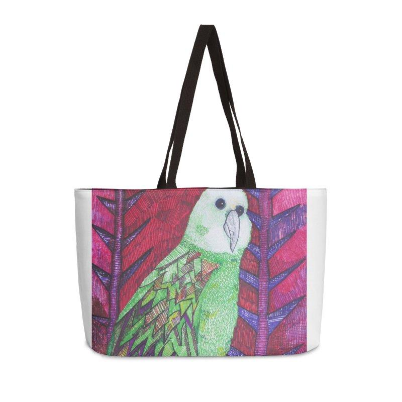 Michael the Parrot Accessories Bag by Studio Art 101's Art Shop