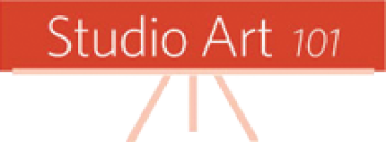 Studio Art 101's Art Shop Logo