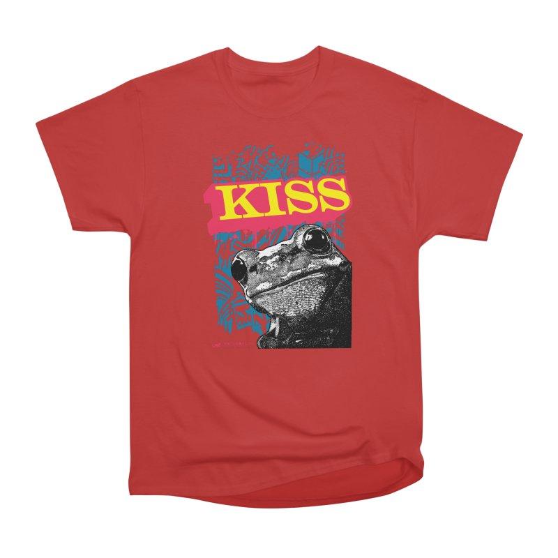 Kiss Men's Heavyweight T-Shirt by StudioDaboo's Artist Shop