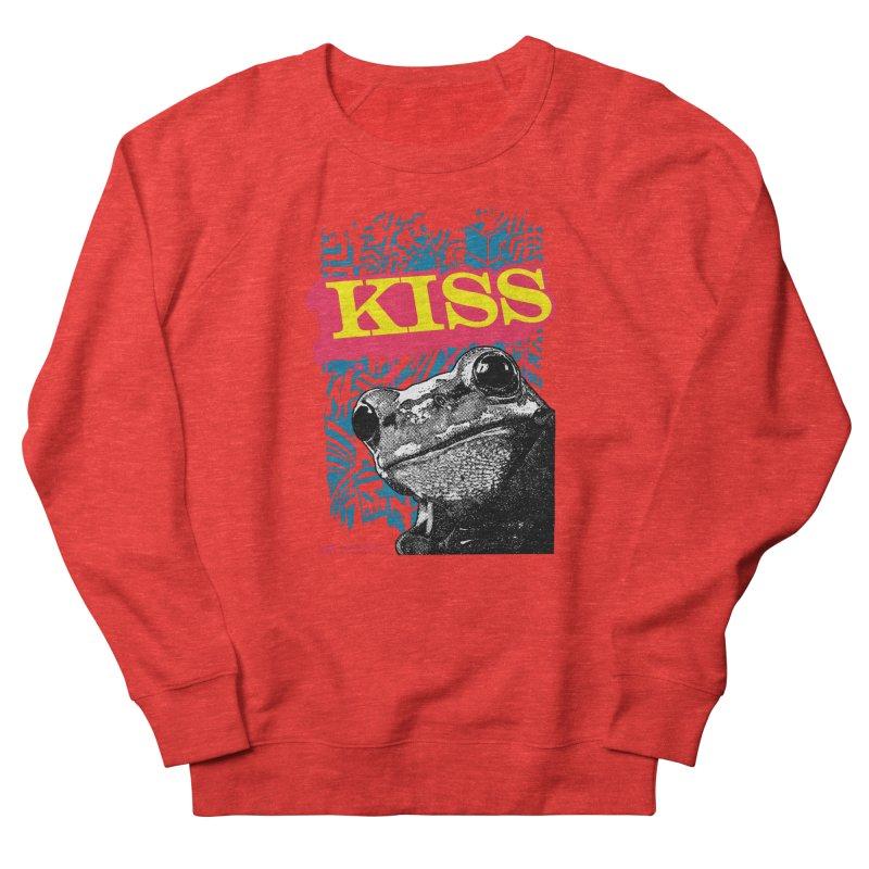 Kiss Men's Sweatshirt by StudioDaboo's Artist Shop