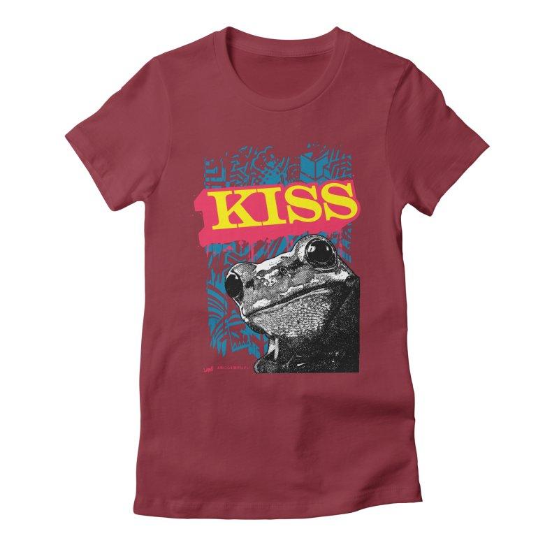 Kiss Women's T-Shirt by StudioDaboo's Artist Shop