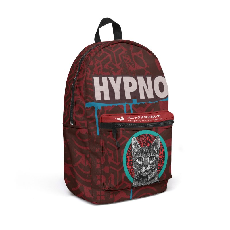 Backpack - HYPNO Accessories Bag by StudioDaboo's Artist Shop