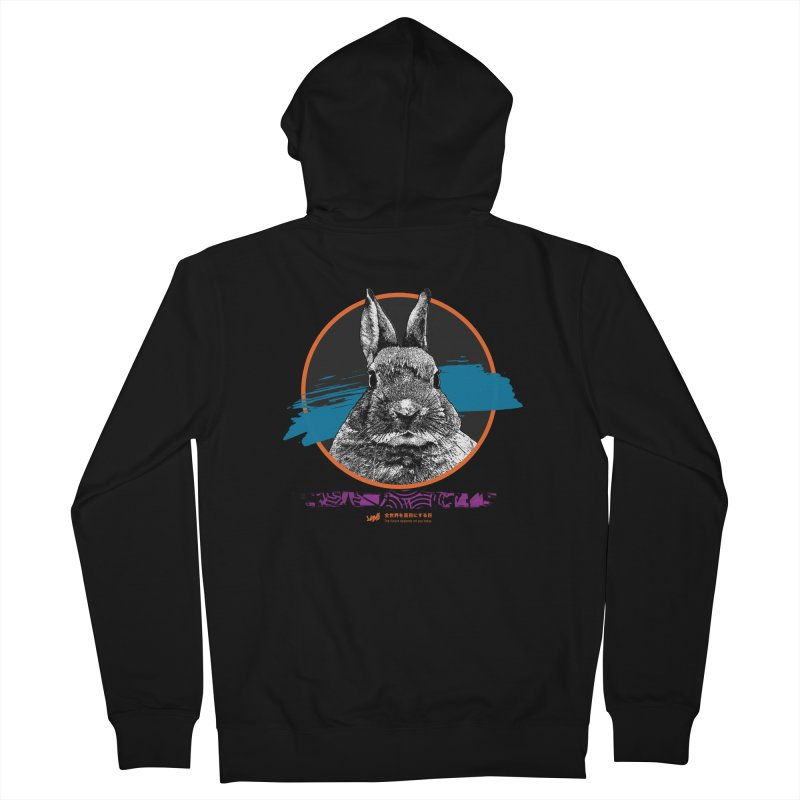 Fury Men's Zip-Up Hoody by StudioDaboo's Artist Shop