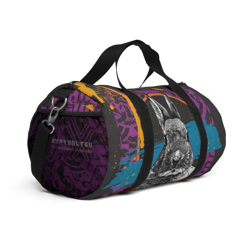 Duffel Bag - Fury Accessories Bag by StudioDaboo's Artist Shop