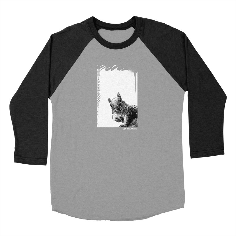 Chipmunk (Black&White) Men's Longsleeve T-Shirt by StudioDaboo's Artist Shop