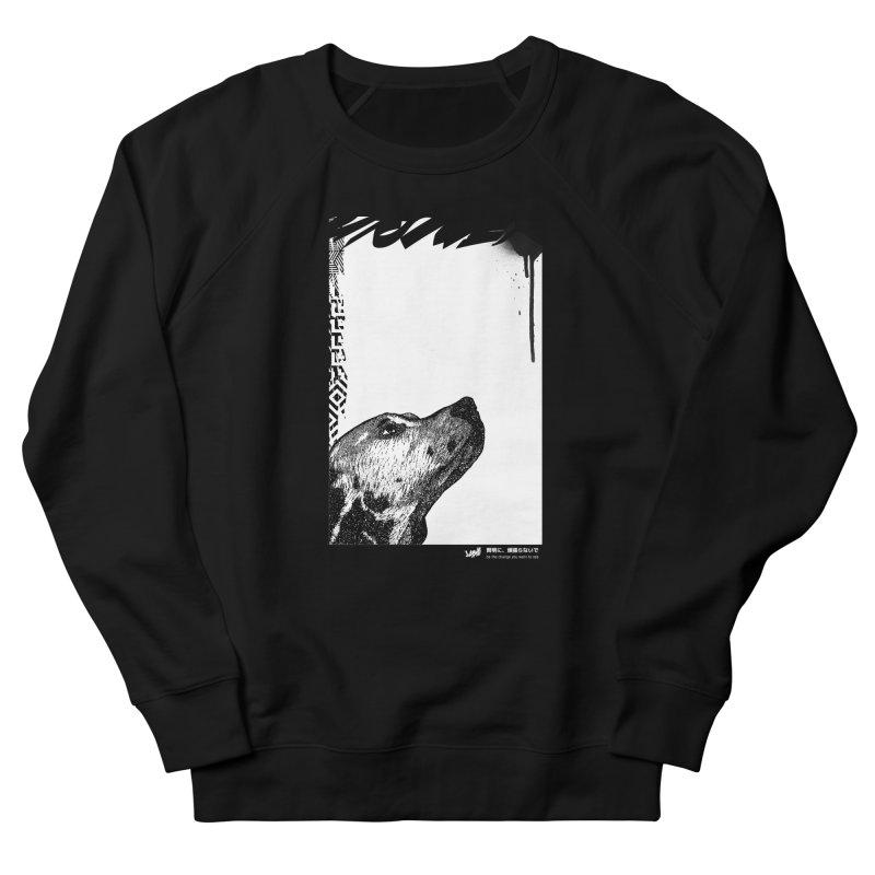 Dalmatian (Black&White) Men's Sweatshirt by StudioDaboo's Artist Shop