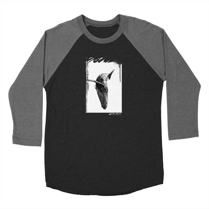 Whale (Black&White) Women's Longsleeve T-Shirt by StudioDaboo's Artist Shop