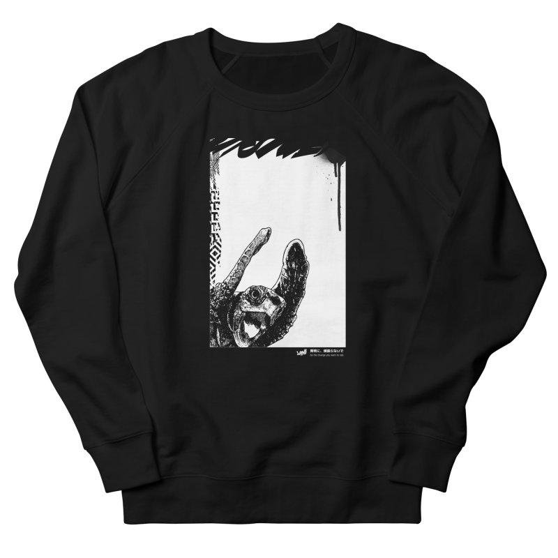 Turtle (Black&White) Men's Sweatshirt by StudioDaboo's Artist Shop