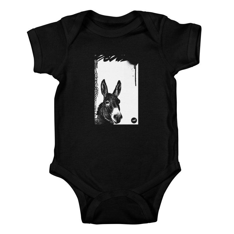 Fella Kids Baby Bodysuit by StudioDaboo's Artist Shop