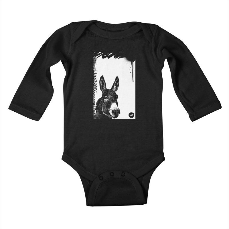 Fella Kids Baby Longsleeve Bodysuit by StudioDaboo's Artist Shop