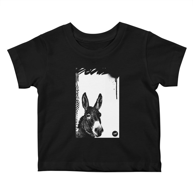 Fella Kids Baby T-Shirt by StudioDaboo's Artist Shop