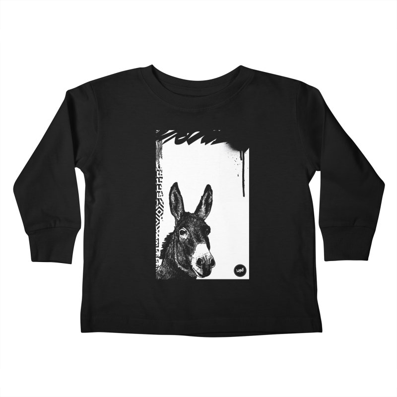 Fella Kids Toddler Longsleeve T-Shirt by StudioDaboo's Artist Shop