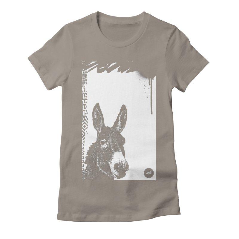 Fella Women's Fitted T-Shirt by StudioDaboo's Artist Shop