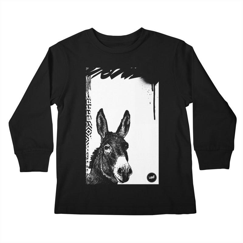 Fella Kids Longsleeve T-Shirt by StudioDaboo's Artist Shop