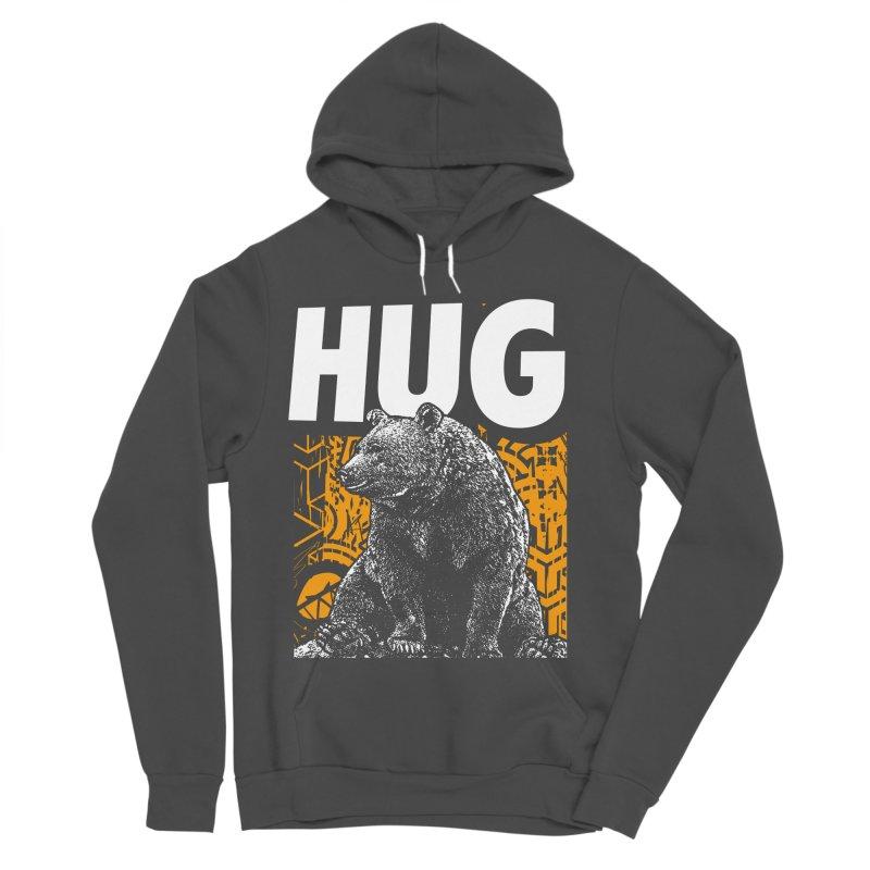 Bear Hug Women's Sponge Fleece Pullover Hoody by StudioDaboo's Artist Shop