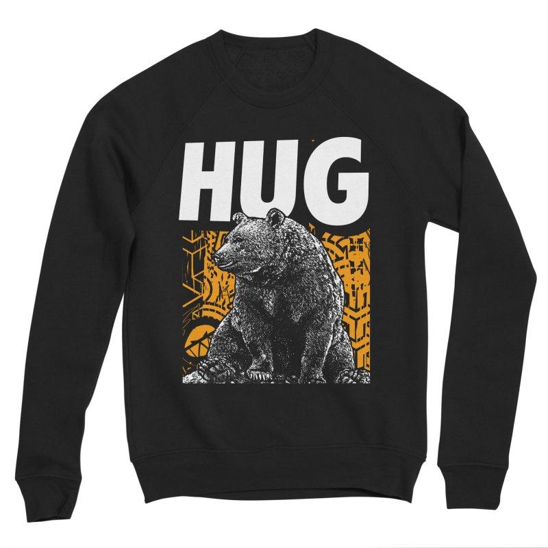 Bear Hug Men's Sponge Fleece Sweatshirt by StudioDaboo's Artist Shop
