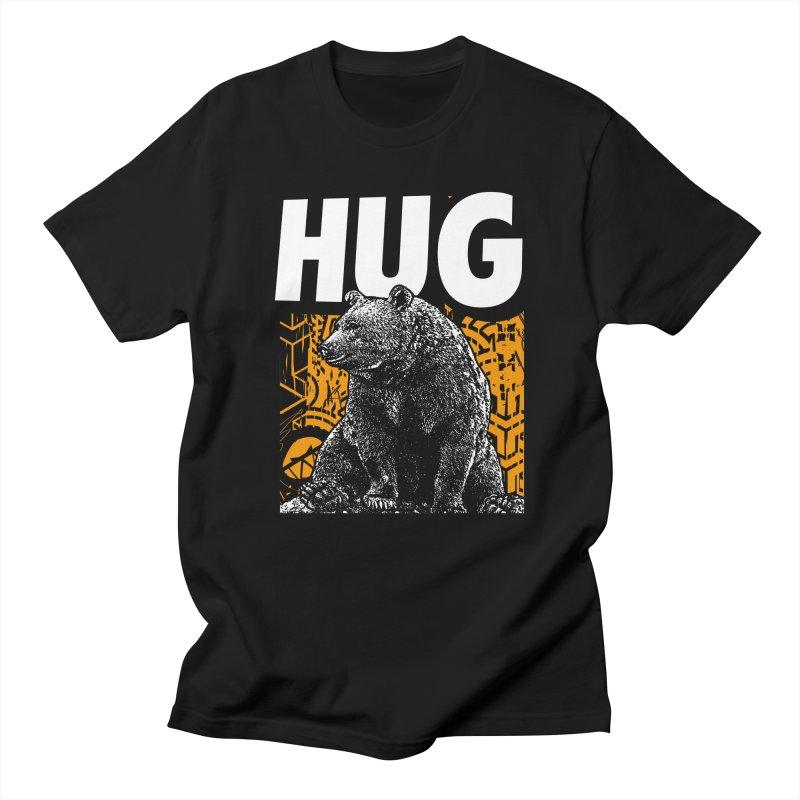 Bear Hug Men's T-Shirt by StudioDaboo's Artist Shop