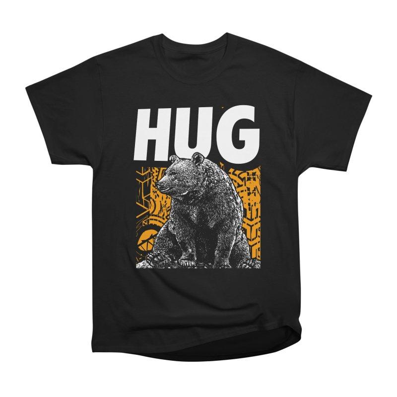 Bear Hug Women's Heavyweight Unisex T-Shirt by StudioDaboo's Artist Shop