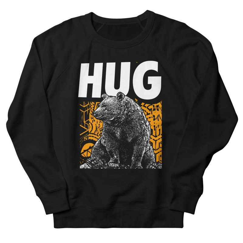 Bear Hug Men's French Terry Sweatshirt by StudioDaboo's Artist Shop