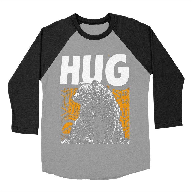 Bear Hug Women's Baseball Triblend Longsleeve T-Shirt by StudioDaboo's Artist Shop