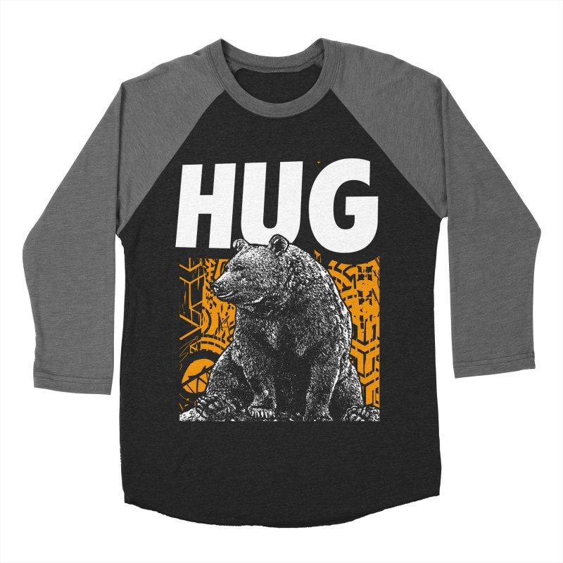 Bear Hug Men's Baseball Triblend Longsleeve T-Shirt by StudioDaboo's Artist Shop
