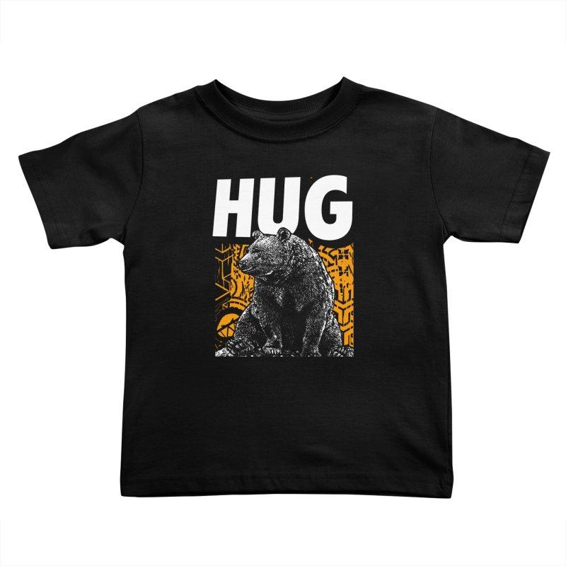 Bear Hug Kids Toddler T-Shirt by StudioDaboo's Artist Shop