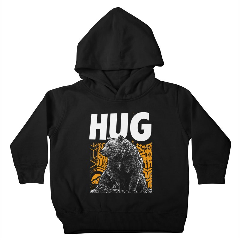 Bear Hug Kids Toddler Pullover Hoody by StudioDaboo's Artist Shop