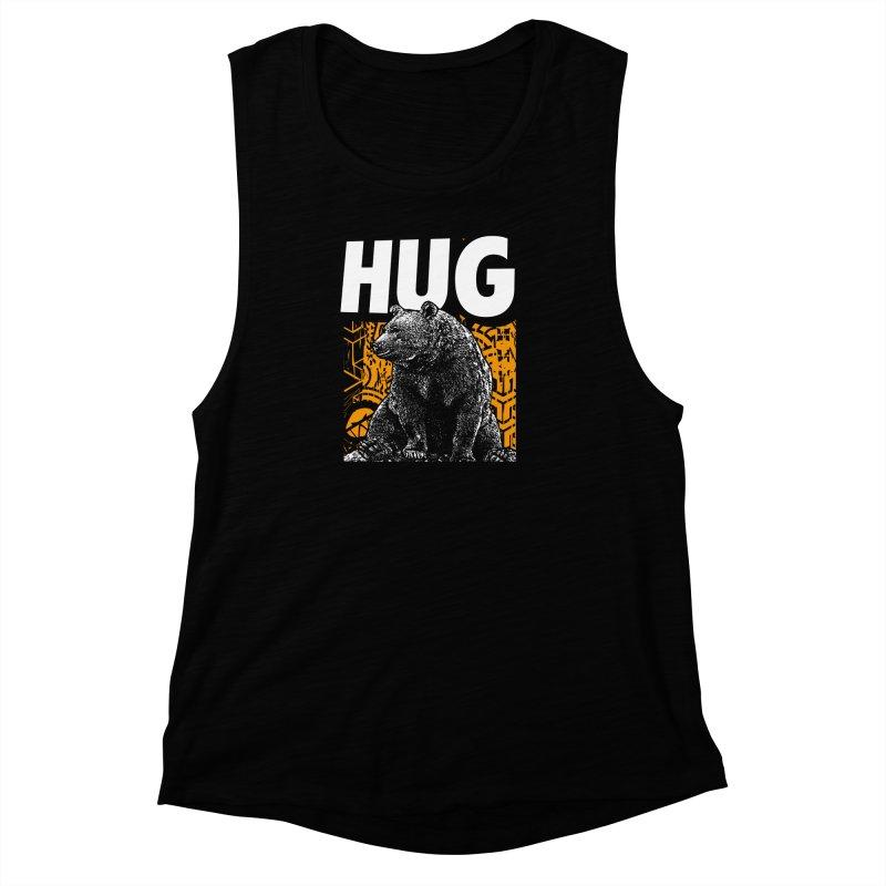 Bear Hug Women's Muscle Tank by StudioDaboo's Artist Shop