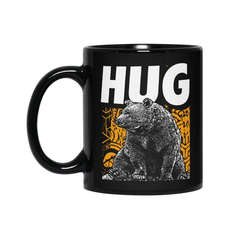 Bear Hug Accessories Standard Mug by StudioDaboo's Artist Shop
