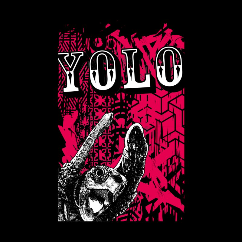 YOLO Men's T-Shirt by StudioDaboo's Artist Shop