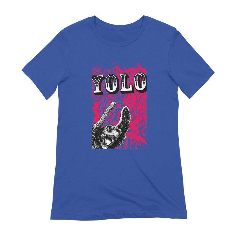 YOLO Women's Extra Soft T-Shirt by StudioDaboo's Artist Shop