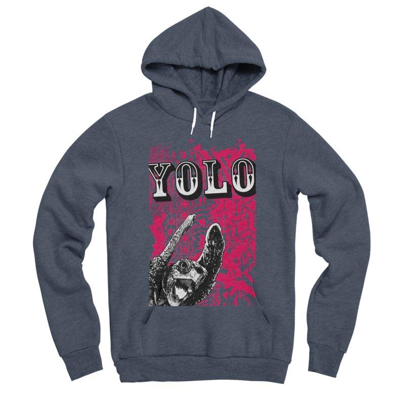 YOLO Women's Sponge Fleece Pullover Hoody by StudioDaboo's Artist Shop