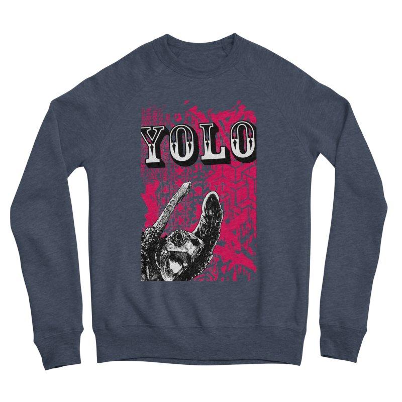 YOLO Women's Sponge Fleece Sweatshirt by StudioDaboo's Artist Shop