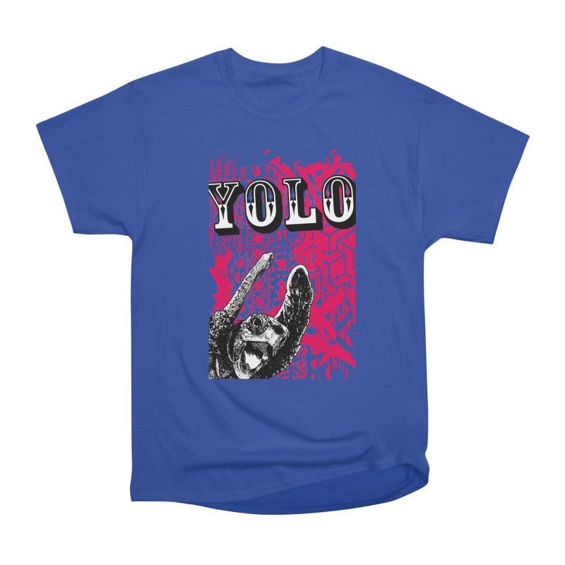 YOLO Men's Heavyweight T-Shirt by StudioDaboo's Artist Shop