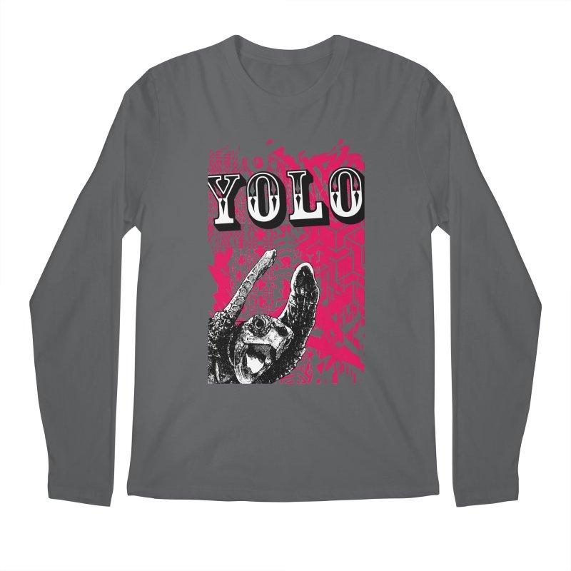 YOLO Men's Regular Longsleeve T-Shirt by StudioDaboo's Artist Shop
