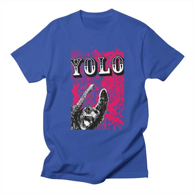 YOLO Women's Regular Unisex T-Shirt by StudioDaboo's Artist Shop