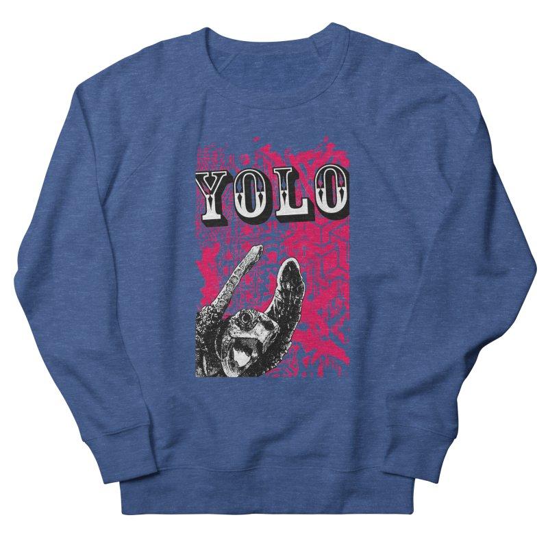YOLO Men's French Terry Sweatshirt by StudioDaboo's Artist Shop