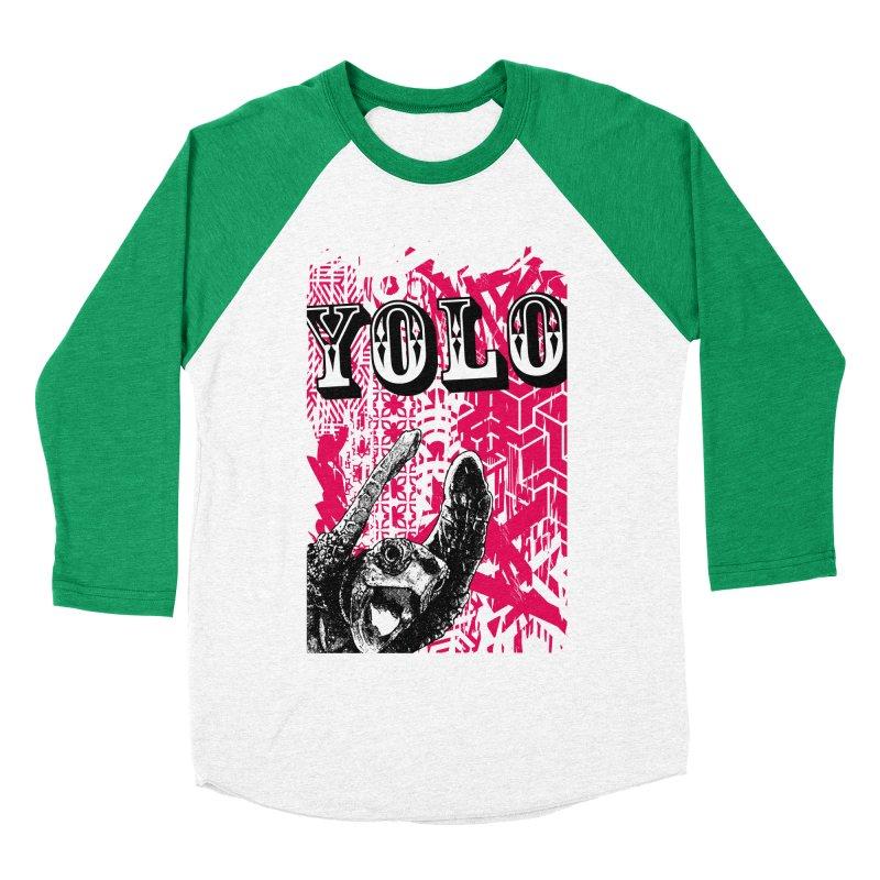 YOLO Women's Baseball Triblend Longsleeve T-Shirt by StudioDaboo's Artist Shop