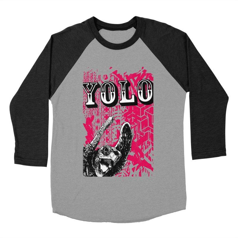 YOLO Men's Baseball Triblend Longsleeve T-Shirt by StudioDaboo's Artist Shop