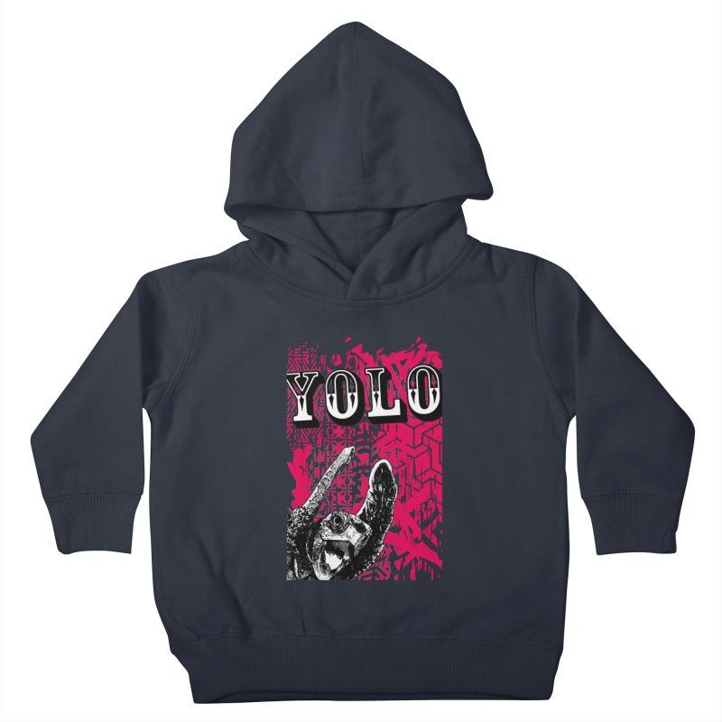 YOLO Kids Toddler Pullover Hoody by StudioDaboo's Artist Shop