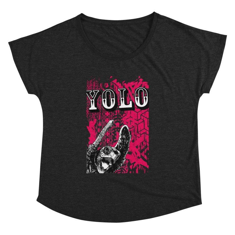 YOLO Women's Dolman Scoop Neck by StudioDaboo's Artist Shop