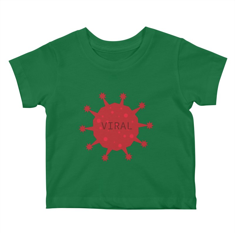 Viral Tee Kids Baby T-Shirt by STUDIO FORONDA DESIGN SHOP