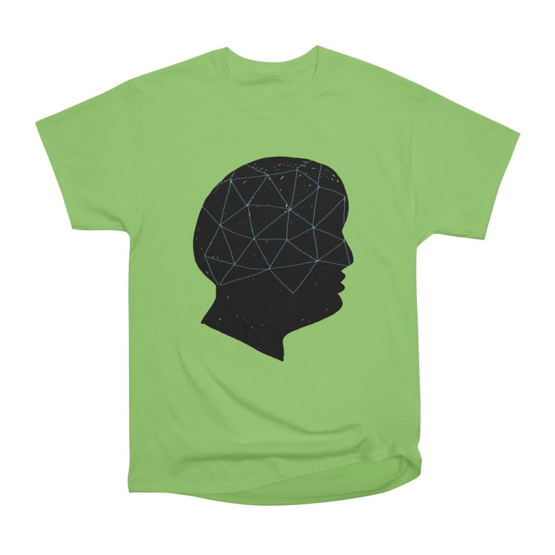 INSIDE & OUT Women's Heavyweight Unisex T-Shirt by STUDIO FORONDA DESIGN SHOP