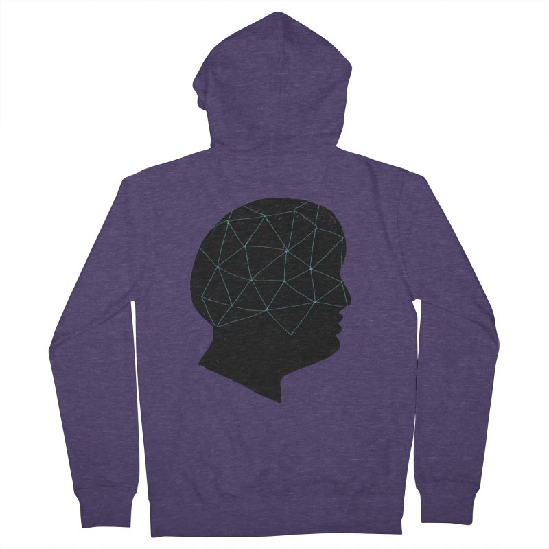 INSIDE & OUT Men's French Terry Zip-Up Hoody by STUDIO FORONDA DESIGN SHOP