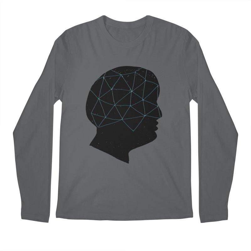 INSIDE & OUT Men's Regular Longsleeve T-Shirt by STUDIO FORONDA DESIGN SHOP