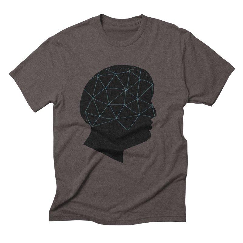 INSIDE & OUT Men's Triblend T-Shirt by STUDIO FORONDA DESIGN SHOP