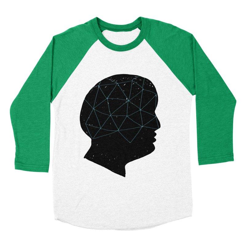 INSIDE & OUT Women's Baseball Triblend Longsleeve T-Shirt by STUDIO FORONDA DESIGN SHOP