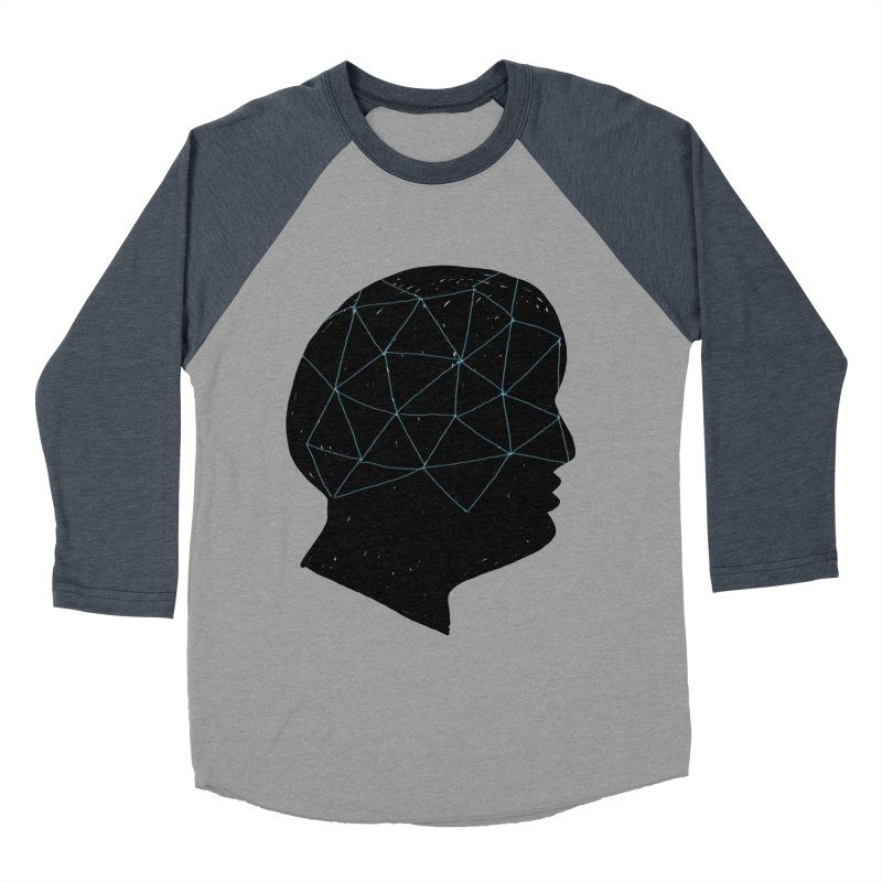 INSIDE & OUT Men's Baseball Triblend Longsleeve T-Shirt by STUDIO FORONDA DESIGN SHOP