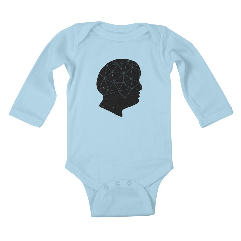 INSIDE & OUT Kids Baby Longsleeve Bodysuit by STUDIO FORONDA DESIGN SHOP
